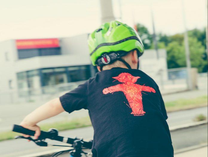 De noodzaak van een fietshelm!